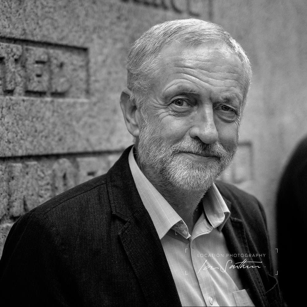 Jeremy Corbyn, portrait