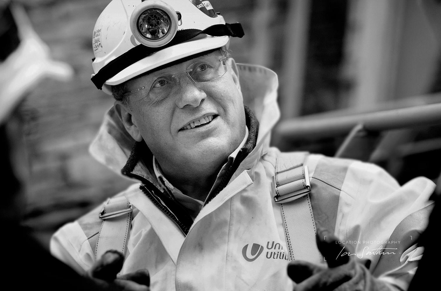 Engineer Portrait corporate photography